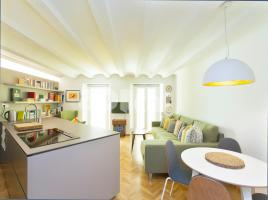 Flat in monthly rentals, 49 m², near bus and train, Robador - Rambla Del Raval